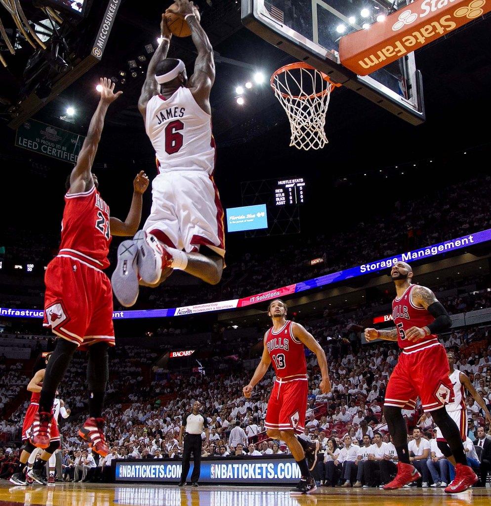 Chicago Bulls vs Miami Heat Round 2 Game 2