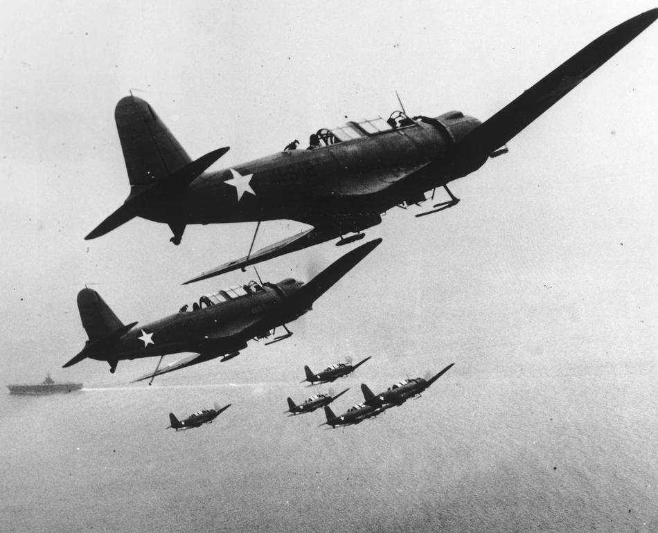 WWII  U.S. NAVY SCOUT PLANES
