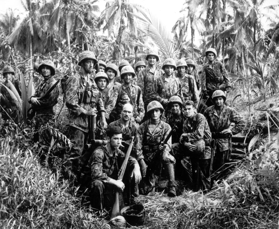 WWII U.S. MARINES BOUGAINVILLE