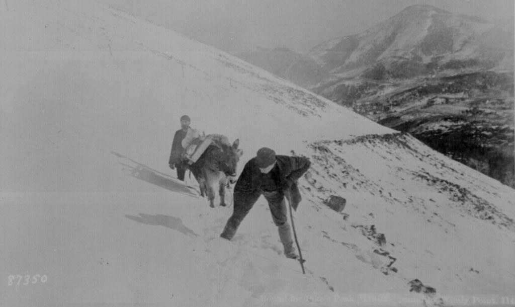Climbing Pikes Peak