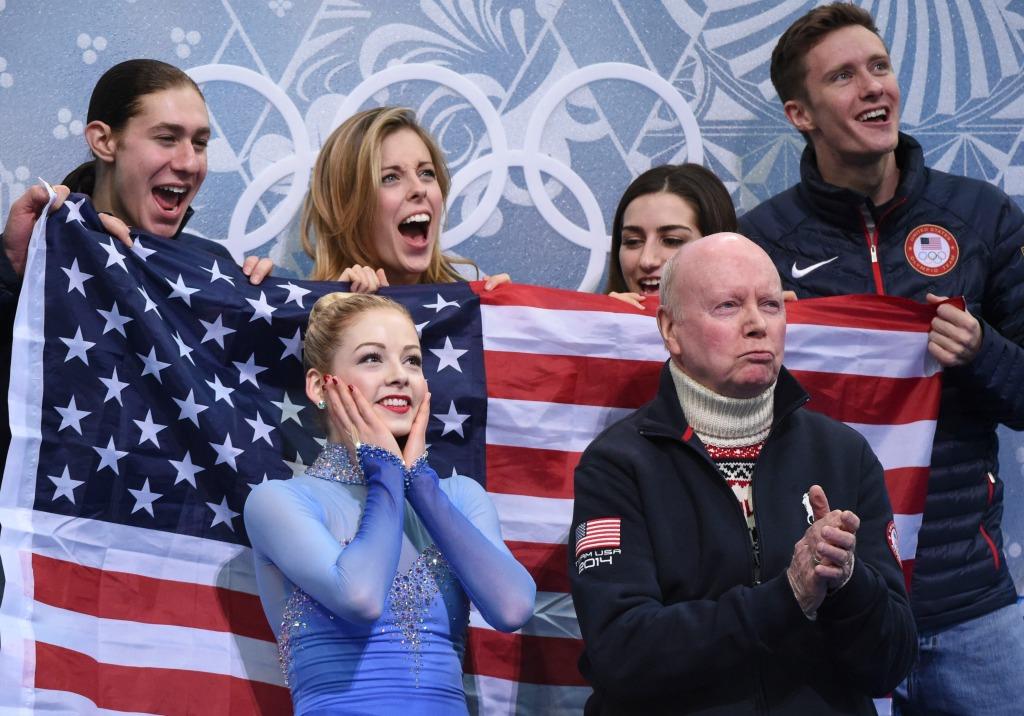 Olympics: Figure Skating-Team Ladies Free Skating