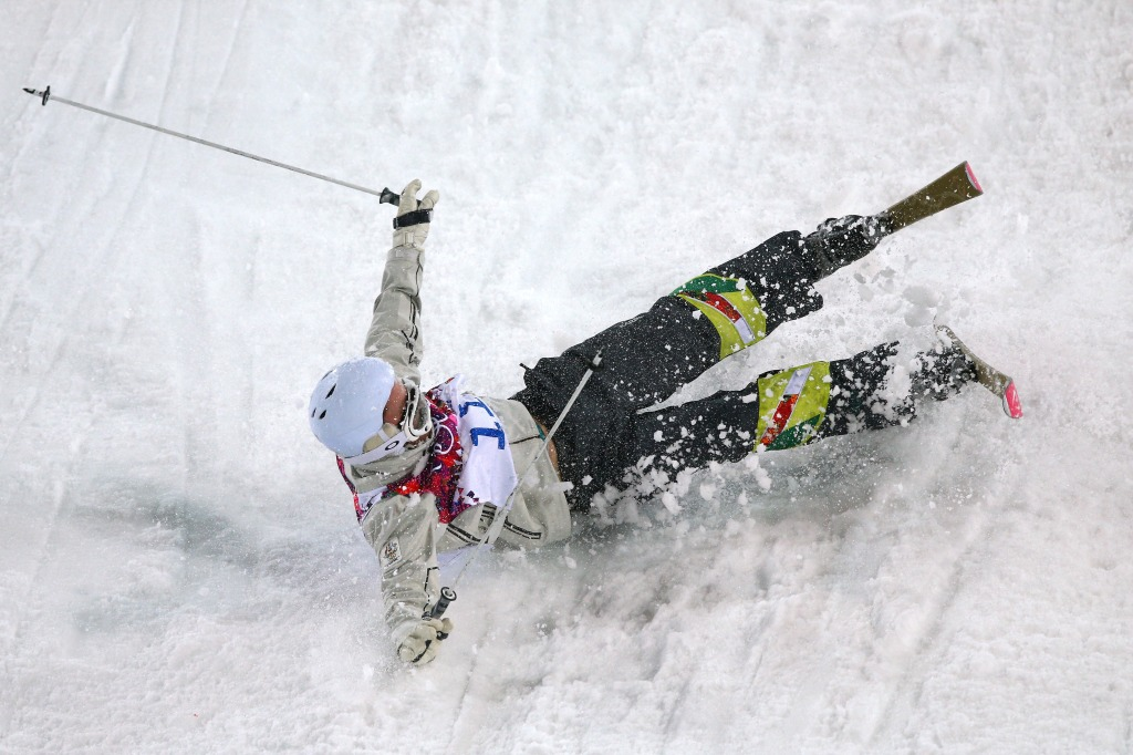 Freestyle Skiing - Winter Olympics Day 3